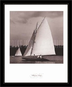 "Michael Kahn Framed Art Print: ""Heading Home"""