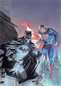 "Jim Lee and Alex Ross Limited Edition Fine Art Giclee Print on Paper and Canvas:""Legendary Heroes"""