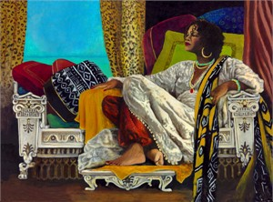 "Consuelo Gamboa Hand Signed and Numbered Limited Edition Giclee: ""Diva"""
