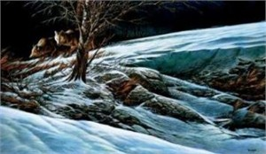 "Terry Redlin Limited Edition Print: ""Catching the Scent"""