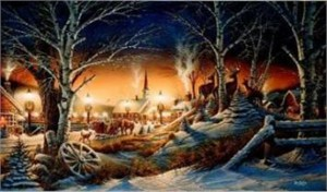 "Terry Redlin Limited Edition Print: ""Night on the Town"""