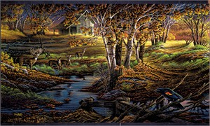 Terry Redlin Limited Edition Print:&quot;Nature's Sentinel&quot;