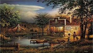 Terry Redlin Open Edition Print:&quot;Summertime &quot;