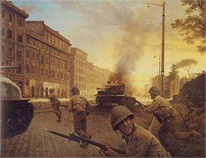 "Greg Olsen� Handsigned & Numbered Limited Edition Canvas:""June 4th, 1944 """