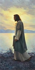 "Greg Olsen� Handsigned and Numbered Limited Edition Giclee on Canvas:""Walk With Me """