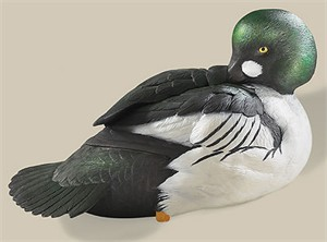 "Philip J. Galatas Limited Edition Coldcast Sculpture:""Goldeneye Decoy"""